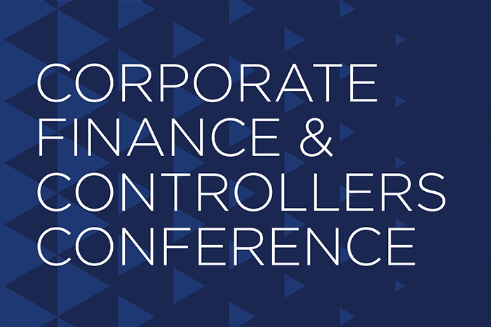 Corporate Finance and Controllers Conference March 25 - March 26, 2019 at the International Centre, Mississauga