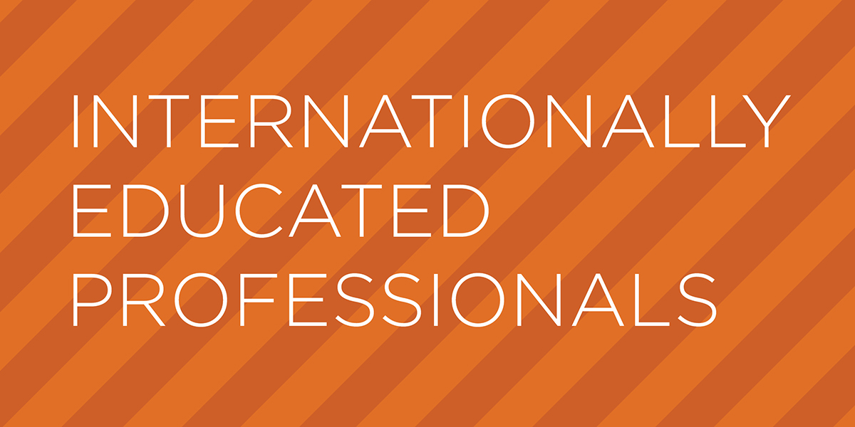 Internationally Educated Professionals