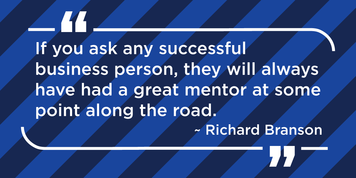 I am a mentor - Richard Branson