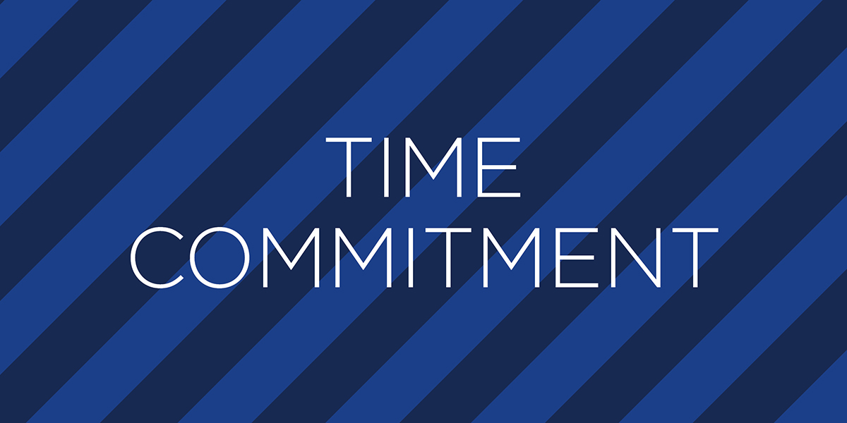 Become a mentor time commitment