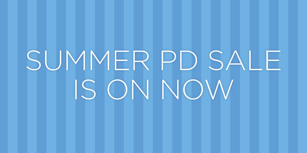 Professional Development Seminar Summer Sale