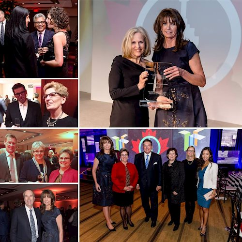 We are proud to have sponsored the Toronto Region Board of Trade's Toronto Region Builder Award at the Annual dinner last night. Carol Wilding, CPA Ontario's President and CEO, presented the Toronto Region Builder Award to Susan McIsaac, immediate past president of United Way Toronto and York Region. Congratulations Susan!